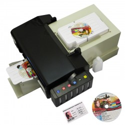 High Speed CD Automatic Printer PVC ID Card Printer