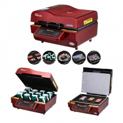 3D Sublimation Heat Press Printer Vacuum Heat Press Machine