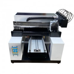 Smart 8 Colour A3 DX7 Head UV Printer Embossed And Glossy Printing 3D Printer