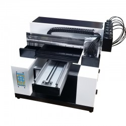 UV Printer NEW A3 Size 6 Color UV Embossed Image Printer Machine White Ink UV Printer Flatbed Printer