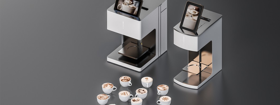 Presents High-technology Coffee Printers To Print Custom Images On Various Beverage To Attract Clients Interesting