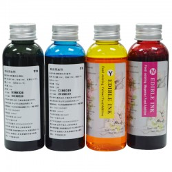 Refillable Edible Ink Compatible For Canon HP Epson Cartridge and Head